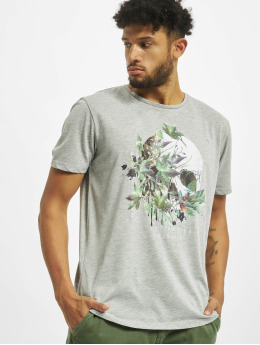 Jack & Jones T-Shirty Jorgarden Tee Ss Crew Neck szary