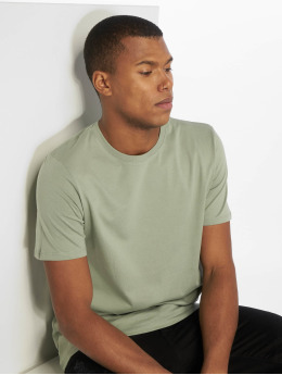 Jack & Jones T-Shirty jjePlain zielony
