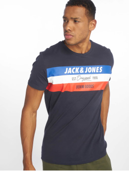 Jack & Jones T-skjorter jorShakedowns blå