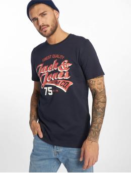 Jack & Jones T-skjorter jjeLogo blå