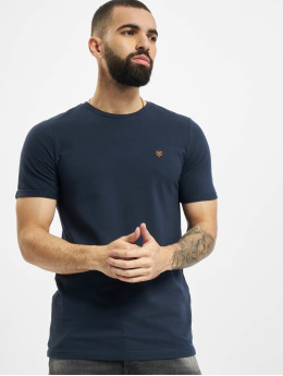 Jack & Jones T-skjorter jprBlahardy blå