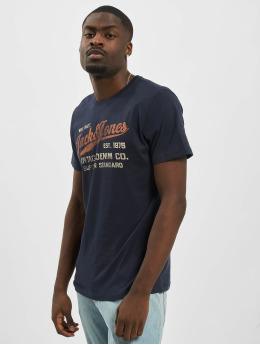 Jack & Jones T-skjorter jprBlubilly Autumn  blå