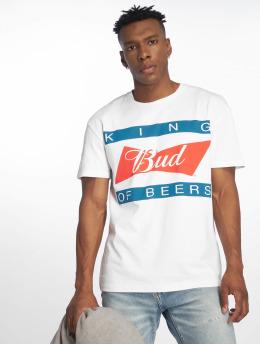 Jack & Jones T-skjorter jorBuds hvit