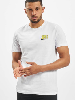 Jack & Jones T-skjorter jcoClean  hvit