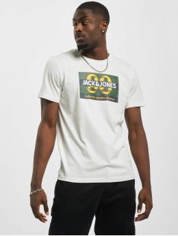 Jack & Jones T-skjorter jorTonni  hvit
