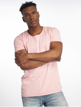 Jack & Jones T-skjorter jjeBas rosa