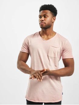 Jack & Jones T-skjorter jorKris BAS Crew Neck rosa