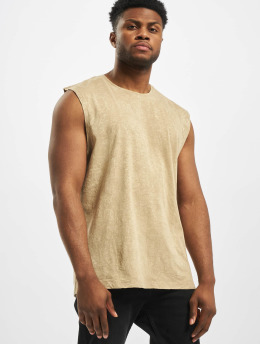 Jack & Jones Tank Tops jorFred BLK bezowy