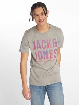 Jack & Jones Tričká jcoBooster šedá
