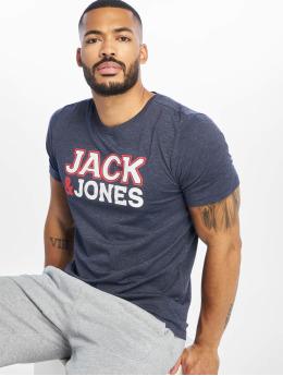 Jack & Jones Tričká jcoNine modrá