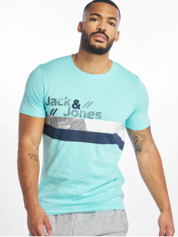 Jack & Jones Tričká jcoStairs modrá