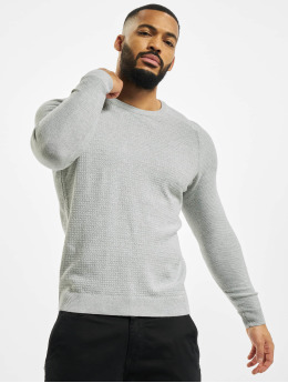 Jack & Jones trui jprBlaadam Knit grijs