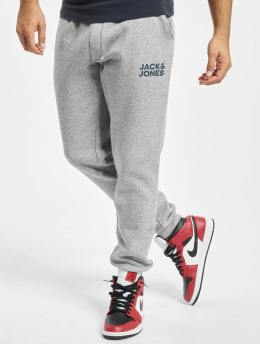Jack & Jones Verryttelyhousut Jjigordon Jjnewsoft harmaa