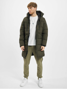 Jack & Jones Veste matelassée jcoQuarry Long olive