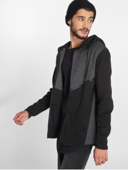 Jack & Jones Zip Hoodie jcoCarlo black