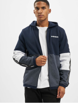 Jack & Jones Zip Hoodie jcoKally  blue