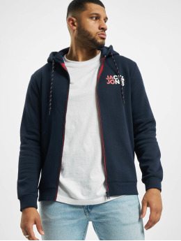 Jack & Jones Zip Hoodie jjBo  blue