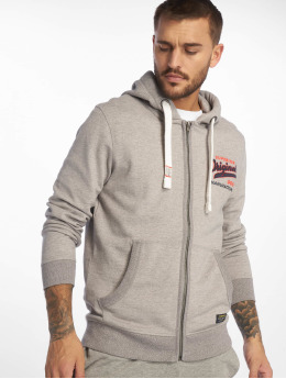 Jack & Jones Zip Hoodie jorVarcity gray