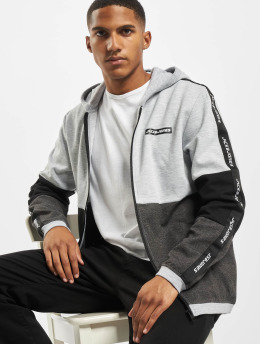 Jack & Jones Zip Hoodie jcoKally  gray