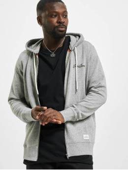 Jack & Jones Zip Hoodie jorTons gray