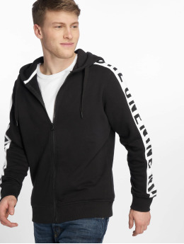Jack & Jones Zip Hoodie jcoCharlie svart