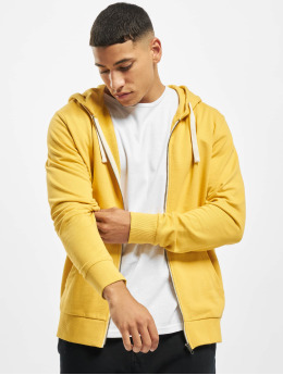 Jack & Jones Zip Hoodie jjeHolmen  yellow