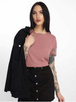 JACQUELINE de YONG T-Shirt jdyApple Lace rosa