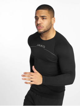 JAKO Camiseta de manga larga Comfort negro