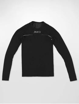 JAKO Maglietta a manica lunga Comfort nero