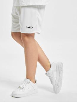 JAKO Pantalones cortos de fútbol Sporthose Manchester 2.0  blanco