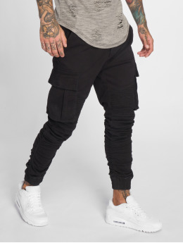 John H Jogging kalhoty Moko čern