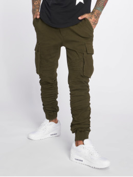 John H Pantalone ginnico Moko verde