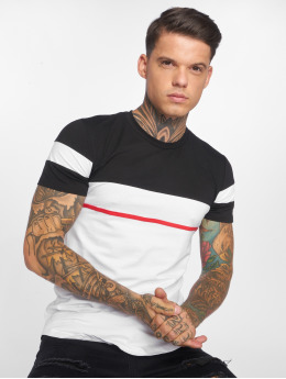 John H T-shirt Line bianco