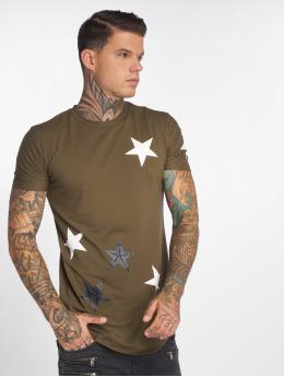 John H t-shirt UsedStars groen