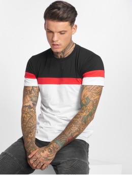John H T-Shirt Stripes schwarz