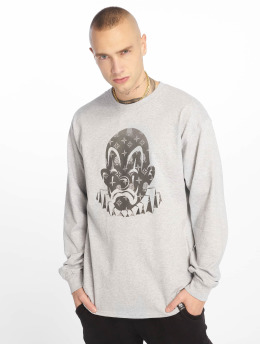 Joker Longsleeve LV Clown grau