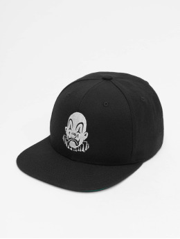 Joker Snapback Cap Clown  black