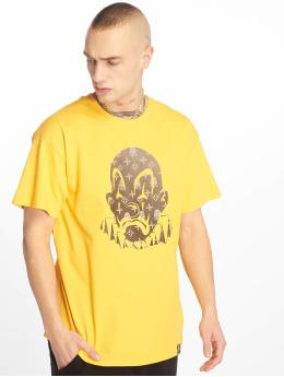 Joker T-paidat LV Clown keltainen