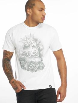 Joker T-shirt Queen  bianco