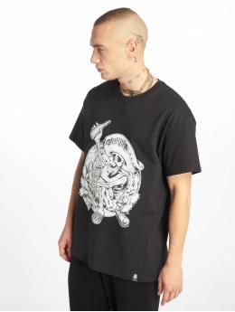 Joker T-Shirt Pancho  noir