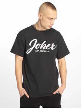 Joker T-Shirt Script noir