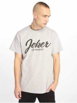 Joker T-Shirty Script  szary
