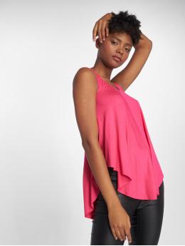 Joliko Hihattomat paidat Lazy vaaleanpunainen