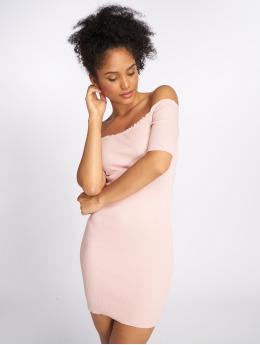 Joliko Kleid Ripp rosa