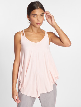 Joliko Tops sans manche Lazy rose
