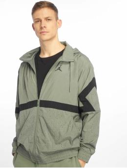 Jordan Демисезонная куртка Diamond Cement оливковый