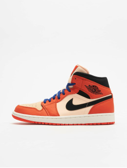 Jordan Сникеры Air 1 Mid Se оранжевый