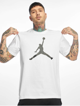 Jordan Футболка Jumpman SS Crew белый