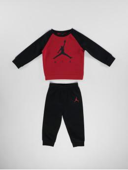 Jordan Anzug Crew & Pant Set schwarz