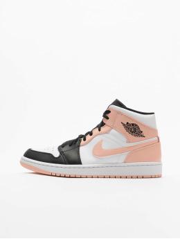 Jordan Baskets Air 1 Mid blanc